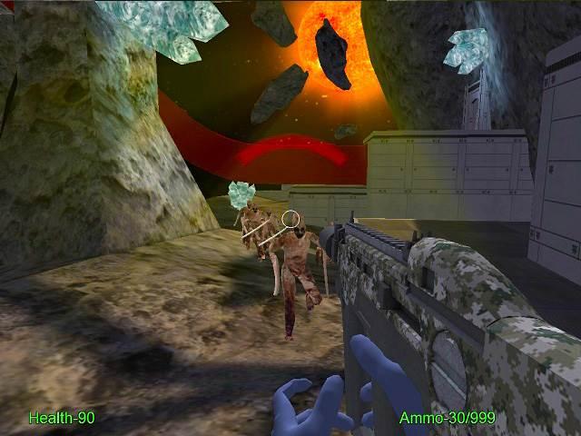 تحميل العاب اكشن للكمبيوتر برابط واحد Alien Invaders