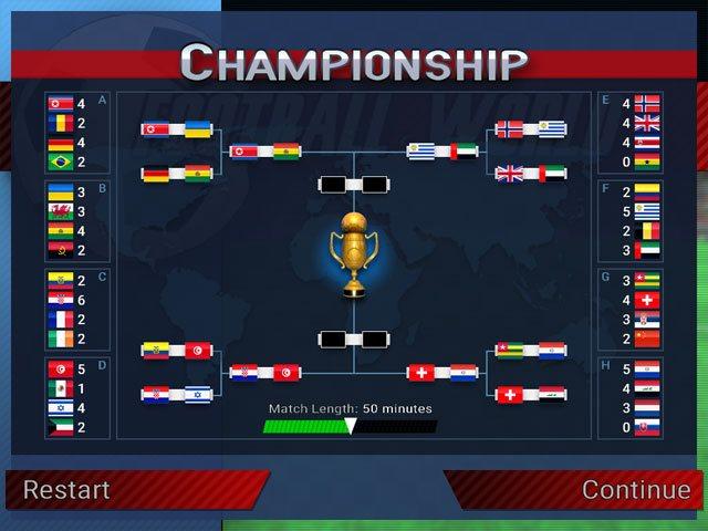 تحميل لعبة فيفا كرة القدم مجانا Football World للكمبيوتر