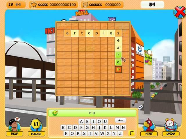 تحميل لعبة الكلمات المتقاطعة وصلة Crossword Puzzle