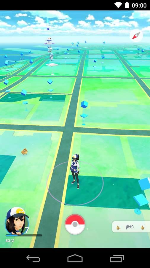 تحميل لعبة بوكيمون جو للأندرويد Pokémon GO 2016