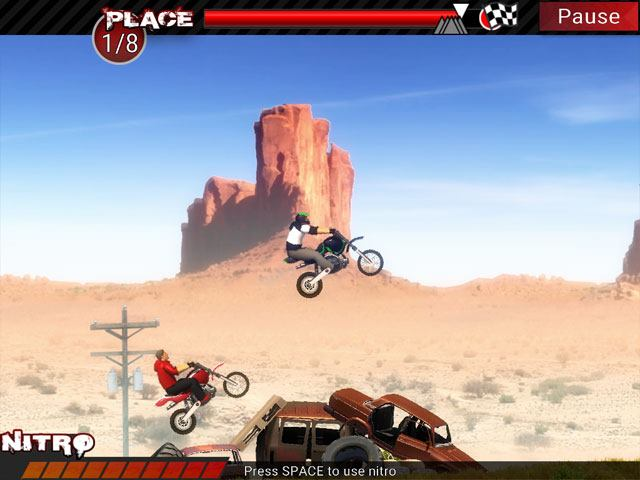 تحميل لعبة درايفر سباق الدراجات Dirt Bikes Super Racing