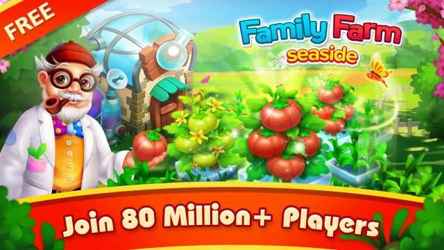 تحميل لعبة المزرعة السعيدة للموبايل Family Farm للموبايل
