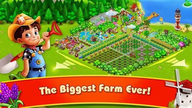 تحميل لعبة المزرعة السعيدة للاندرويد جاهزة
