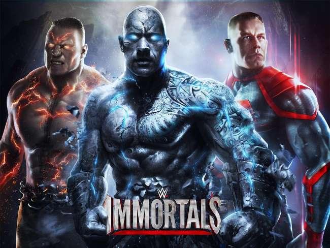 لعبة المصارعة الحرة WWE Immortals للتحميل للكمبيوتر تنزيل مصارعة