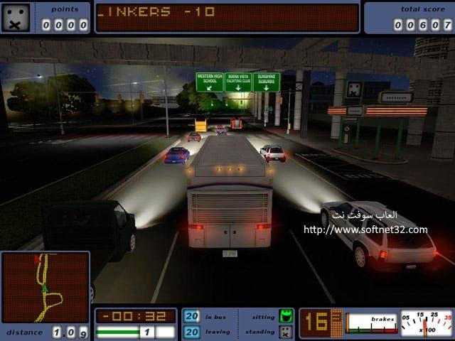 لعبة قيادة الباص من الداخل كاملة Bus Driver للتحميل مجانا
