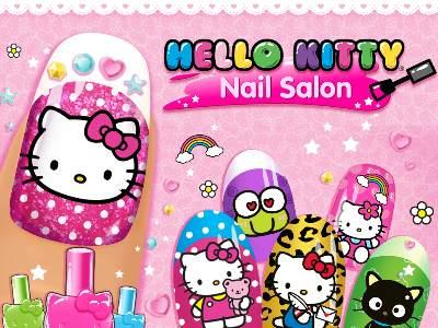 تحميل لعبة hello kitty nail salon
