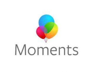 تحميل تطبيق moments facebook