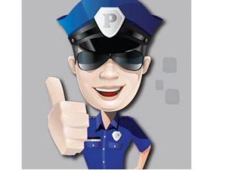 شرطة الاطفال على الجوال