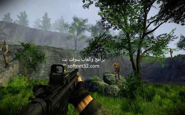 تحميل العاب اكشن كاملة مجانا للاندرويد لعبة Commando Mountains Operation