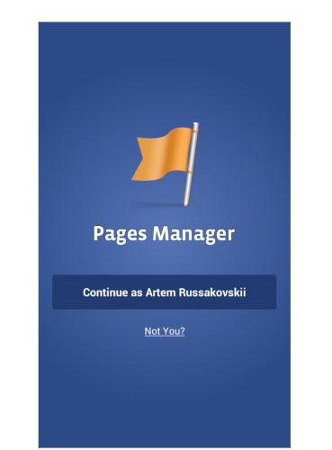 تحميل برنامج Facebook Pages Manager مدير صفحات الفيس بوك