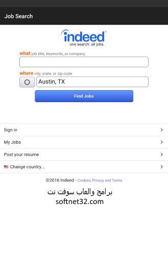 تحميل برنامج البحث عن وظائف شاغرة مجانا للموبايل Job Search