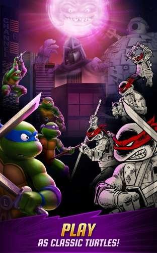 تحميل لعبة سلاحف النينجا 2017 Ninja Turtles برابط مباشر للاندرويد