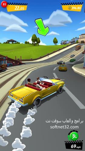 تحميل لعبه كريزى تاكسى مجانا للموبايل Crazy Taxi الاصلية كاملة