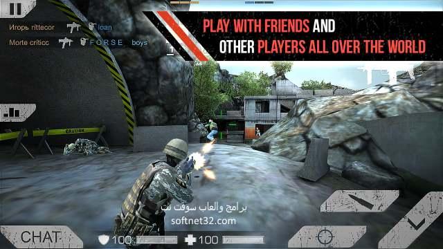 تحميل العاب اكشن ومغامرات للاندرويد - لعبة المواجهة المتعددة Standoff Multiplayer