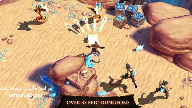 تحميل لعبة حصن الصياد دونجن هانتر كاملة للاندرويد Dungeon Hunter