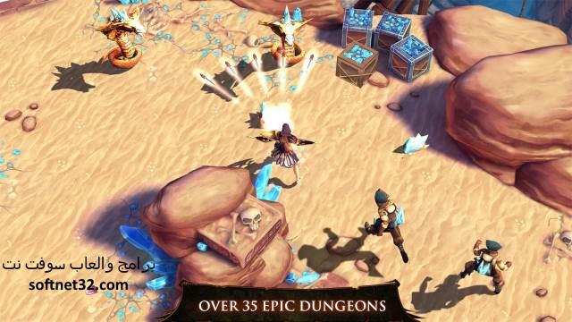تحميل لعبة حصن الصياد 2 و3و Dungeon Hunter 4 للاندرويد