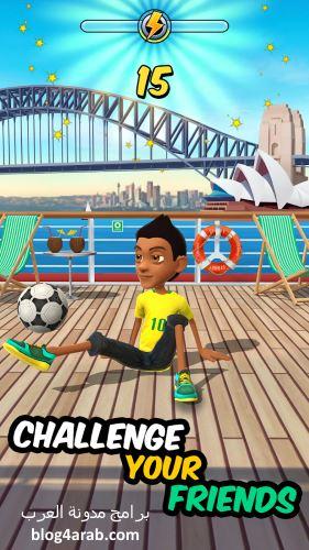 تحميل لعبة كرة قدم الشوارع مضغوطة للاندرويد Kickerinho World