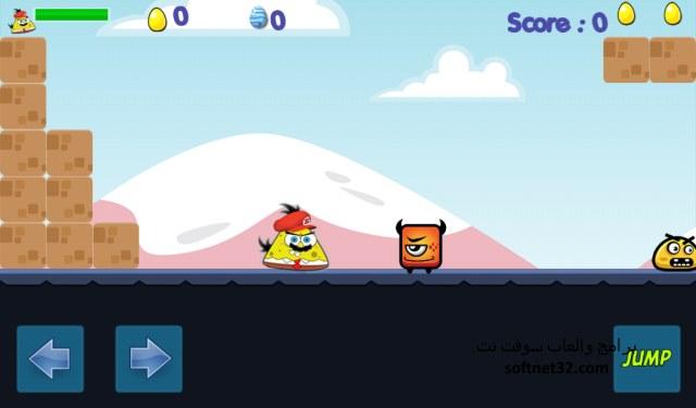 تحميل لعبة سبونج بوب برابط واحد للاندرويد مجانا Angry SpongeBob