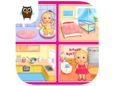 تحميل لعبة الاعتناء بالاطفال الرضع مجانا للاندرويد Baby Dream House