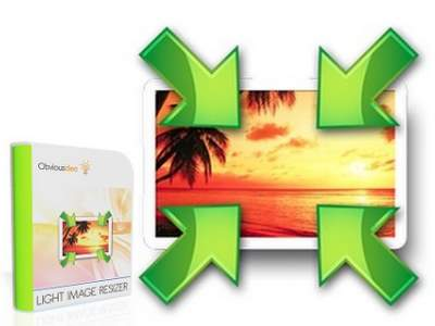 تحميل برنامج التحكم بحجم الصور بنفس جودتها Light Image Resizer