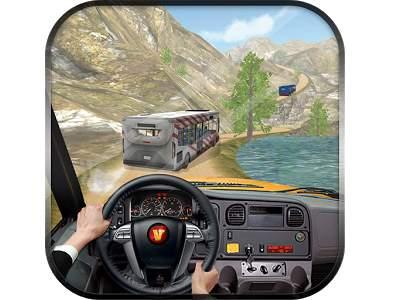 تحميل لعبة الباص السريع السياحي للاندرويد Off Road Tourist Bus
