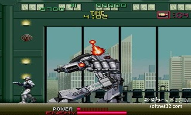 تحميل لعبة RoboCop روبوكوب الالي مجانا للكمبيوتر والجوال