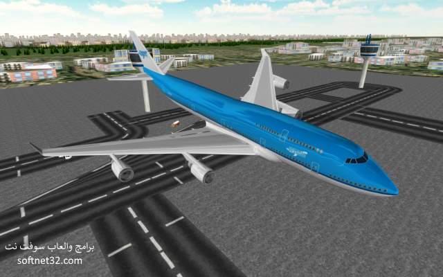 تحميل لعبة محاكاة الطيران وقيادة الطائرات للاندرويد مجانا Flight Simulator