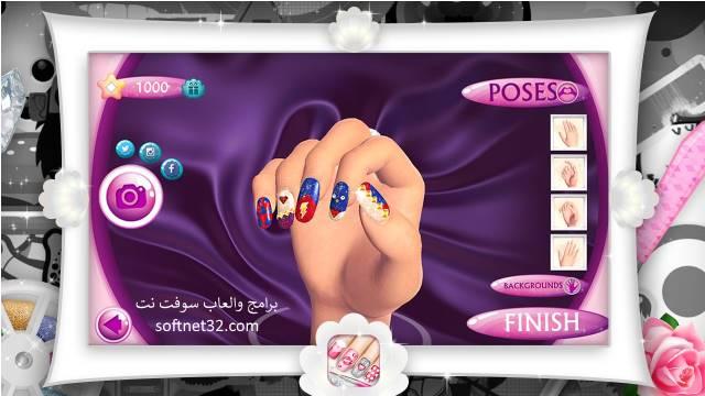 تحميل العاب صالون طلاء الاظافر و تلبيس ومكياج مجانا Fashion Nails