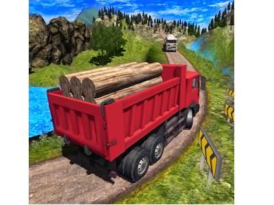 تحميل لعبة قيادة شاحنات نقل البضائع مضغوطة للموبايل Truck Driver