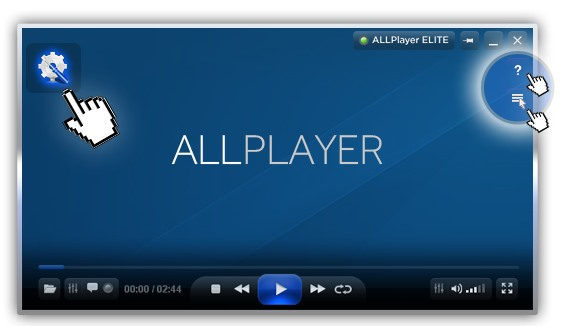 برنامج تشغيل جميع صيغ الفيديو على الانترنت