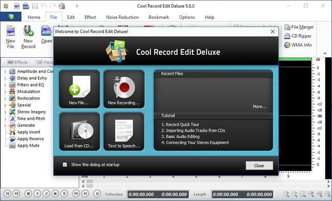 تحميل برنامج تسجيل الصوت للكمبيوتر والاندرويد مع المؤثرات Cool Record