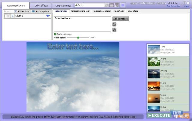 تحميل برنامج وضع شعار على الصور