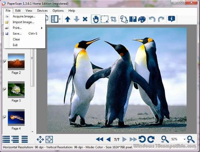 تحميل أحدث برنامج ماسح ضوئي للتحكم في اجهزة السكانر PaperScan