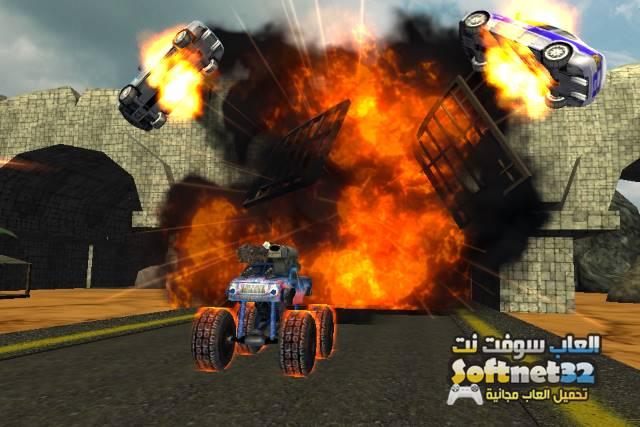 تحميل لعبة سباق الشاحنات الكبيرة للكمبيوتر Download Monster Trucks
