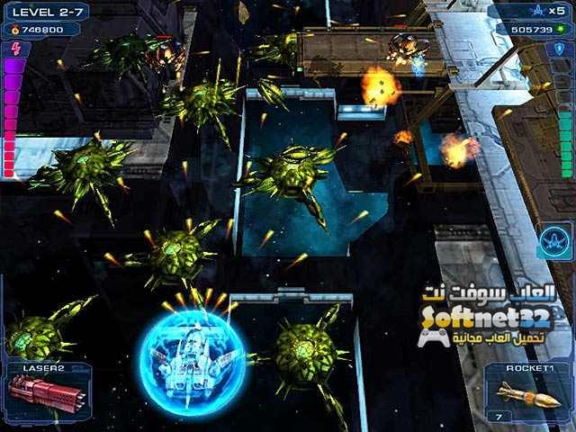 تحميل لعبة الاكشن حرب طائرات الفضاء للكمبيوتر