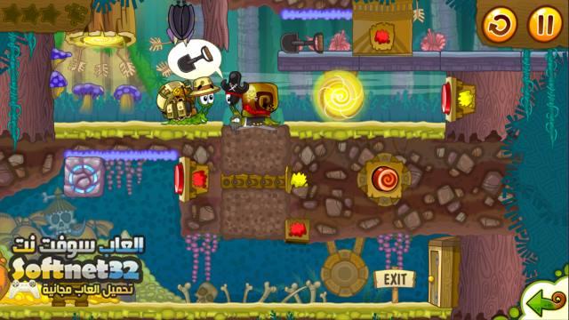 تحميل لعبة الدوده الشقية للكمبيوتر مجانا كامله Snail Bob 2