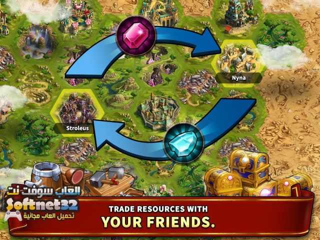 تحميل افضل لعبة استراتيجية مجانا للكمبيوتر Elvenar