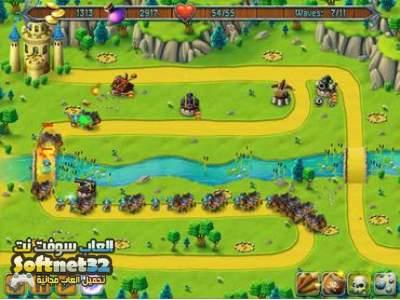 تحميل لعبة المدافعون مجانا للكمبيوتر Medieval Defenders