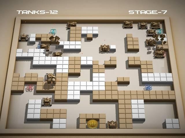 تحميل لعبة حرب الدبابات الصغيرة مجانا للكمبيوتر Small Tanks