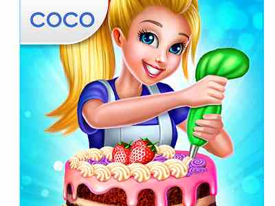 تحميل ألعاب طبخ بنات مجانا للاندرويد صنع الكيك Real Cake Maker