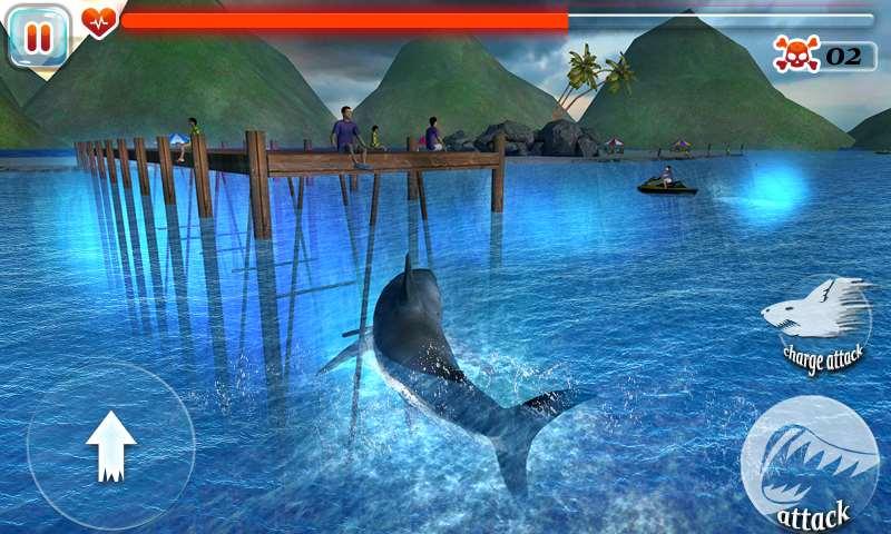 تحميل لعبه سمكة القرش مجانا للاندرويد Scary Shark