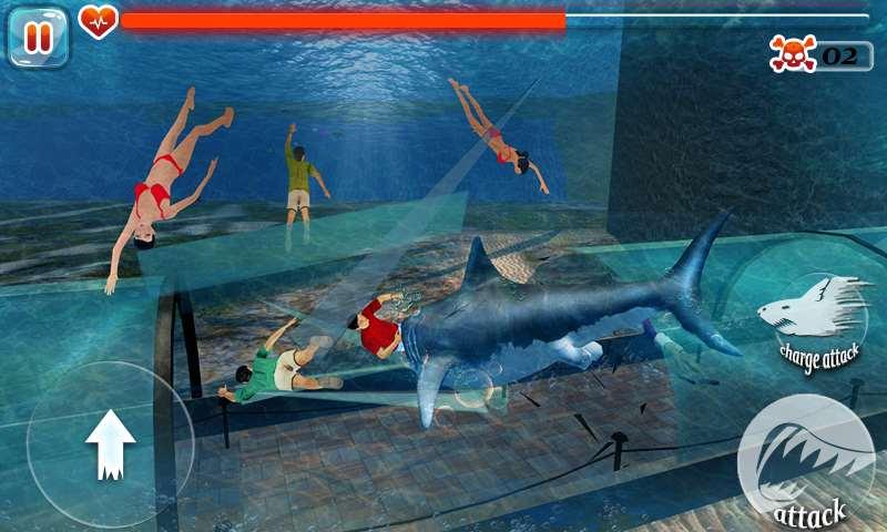 تحميل لعبة سمك القرش الجائع للموبايل