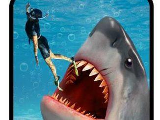 لعبة سمك القرش الجائعة