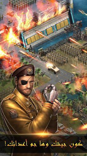 تحميل لعبة لهيب الشرق الجديدة للأندرويد والايفون Warfare Strike
