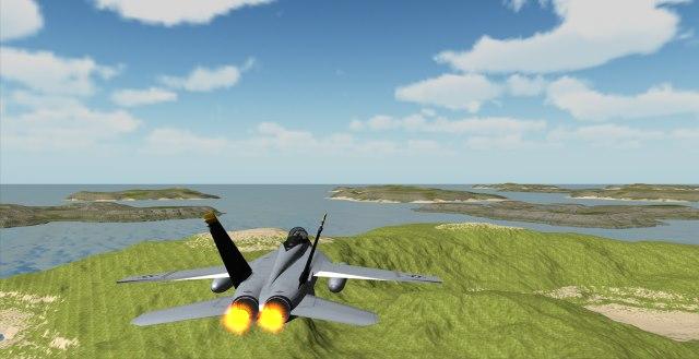 تحميل احدث لعبة قيادة الطائرات من الداخل للكمبيوتر والموبايل