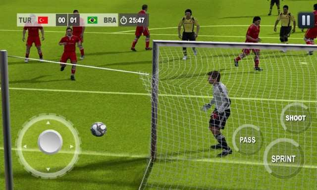 تحميل افضل لعبة كرة قدم مجانا كامله Real World Football