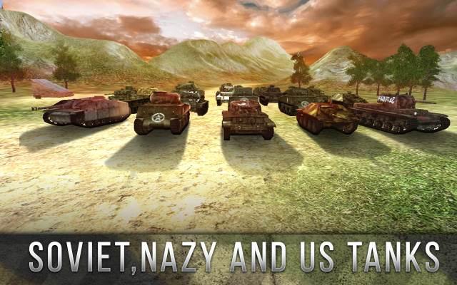 تحميل لعبه الحرب العالمية الثانية حرب الدبابات Tank Battle