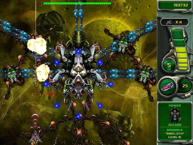 تحميل لعبة حرب النجوم في الفضاء ستار ديفندر Star defender 4
